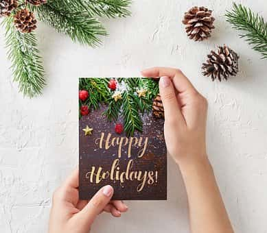 5 tips on holiday cards